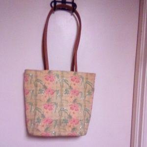 Handbags - NWOT Printed tote bag